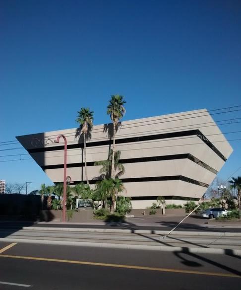 Pyramid building in phoenix az