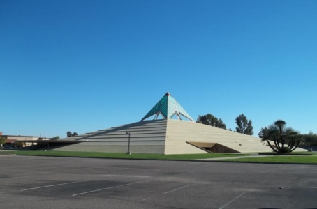 Capstone Cathedral.  An old church in north Phoenix, AZ